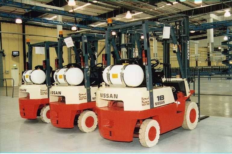 Compressed Natural Gas Forklifts