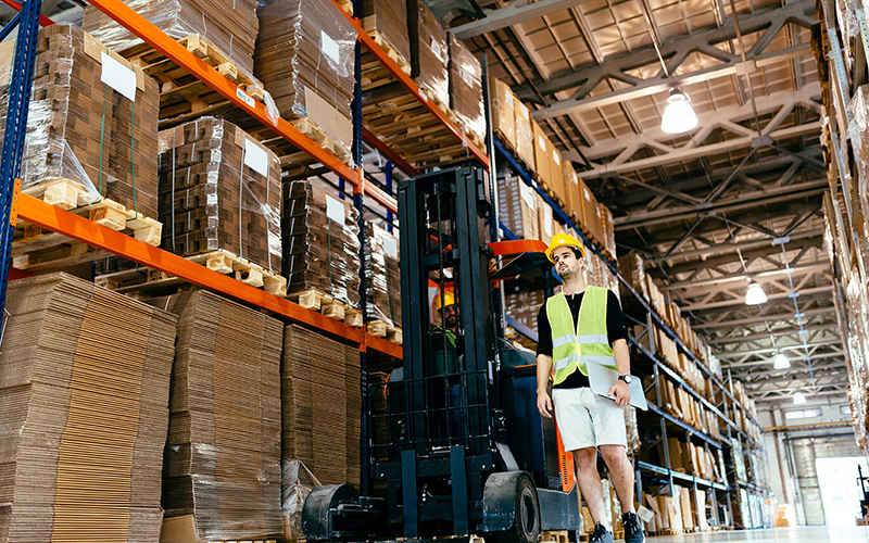 Keeping a safe warehouse environment