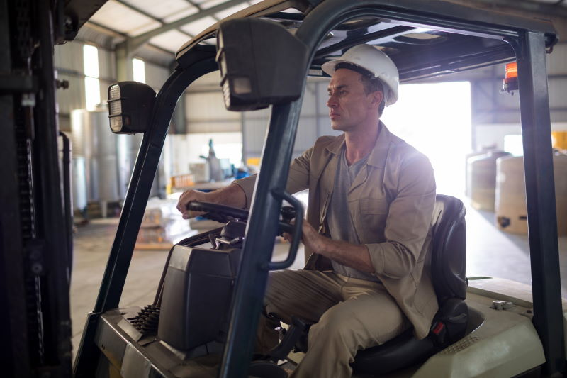 How To Get A Job As A Forklift Driver